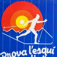 Coleccionismo deportivo: TUIXENT. PROVA L'ESQUI NORDIC!!. Lote 251037330