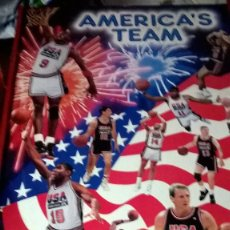 Coleccionismo deportivo: POSTER BALONCESTO NBA DREAN TEAM AMERICA TEAM. Lote 64085315