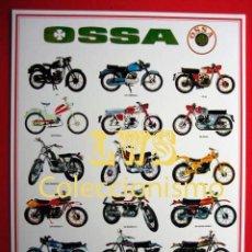 Coleccionismo deportivo: OSSA MODELOS PUBLICIDAD IMAGENES - MOTOCICLISMO MOTOS MOTOR. Lote 296797533