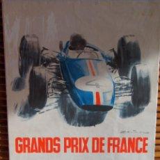 Coleccionismo deportivo: CARTEL ORIGINAL GRAND PRIX DE FRANCE ROUEN 1965. Lote 72776983