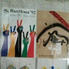 Coleccionismo deportivo: POSTERS BARCELONA'92. Lote 73491231