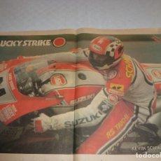 Coleccionismo deportivo: POSTER SPORT-GP 500CC-KEVIN SCHWANTZ.. Lote 73799147