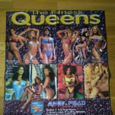 Coleccionismo deportivo: PÓSTER THE FITNESS QUEENS 73 X 54. Lote 74659757