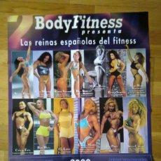Coleccionismo deportivo: PÓSTER LAS REINAS ESPAÑOLAS DEL FITNESS 74 X 54. Lote 74659933