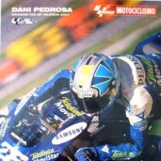 Coleccionismo deportivo: DANI PEDROSA. GANADOR 250 GP. VALENCIA 2004. Lote 75551819