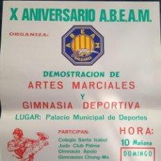 Coleccionismo deportivo: POSTE ARTES MARCIALES AÑO 1990. Lote 77939077