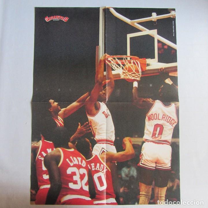 POSTER GRANDE CHICAGO BULLS (Coleccionismo Deportivo - Carteles otros Deportes)