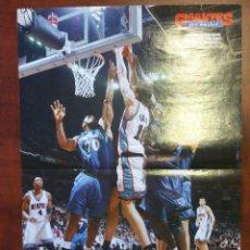 Coleccionismo deportivo: POSTER PAU GASOL MEMPHIS GRIZZLIES 2002. KEVIN GARNETT. Lote 80079185