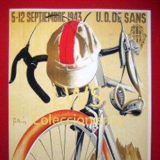 Coleccionismo deportivo: XXIII VUELTA CICLISTA A CATALUÑA III GRAN PREMIO, IMÁGENES DEPORTES CICLISMO - BICICLETA S-1. Lote 80238473