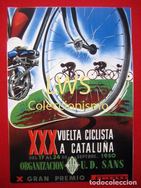 XXX VUELTA CICLISTA A CATALUÑA , PUBLICIDAD DEPORTES - BICICLETA S-1 (Coleccionismo Deportivo - Carteles otros Deportes)