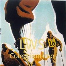 Coleccionismo deportivo: IV TRAVESÍA DE ESQUÍ NURIA LA MOLINA 1950 GIRONA CLUB MONTAÑÉS BARCELONÉS, PUBLICIDAD DEPORTES S-1. Lote 195149003