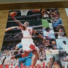 Coleccionismo deportivo: POSTER GIGANTE MICHAEL JORDAN. CHICAGO BULLS. NBA. Lote 80698490