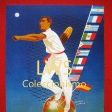 Coleccionismo deportivo: 1º CAMPEONATO MUNDIAL DE PELOTA AÑO 1952, SAN SEBASTIAN PUBLICIDAD IMÁGENES DEPORTES CESTA PUNTA S-2. Lote 176693719