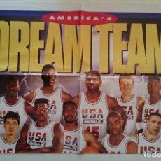 Coleccionismo deportivo: POSTER DREAM TEAM BALONCESTO NBA BASKET USA BARCELONA 92 JORDAN MAGIC BIRD DIARIO SPORT. Lote 82757488