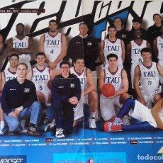Coleccionismo deportivo: CARTEL BASKONIA TAU COPA DEL REY VALENCIA 2003. Lote 83674864