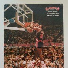 Coleccionismo deportivo: POSTER JEROME KERSEY NBA BALONCESTO PORTLAND TRAIL BLAZERS. Lote 85288184