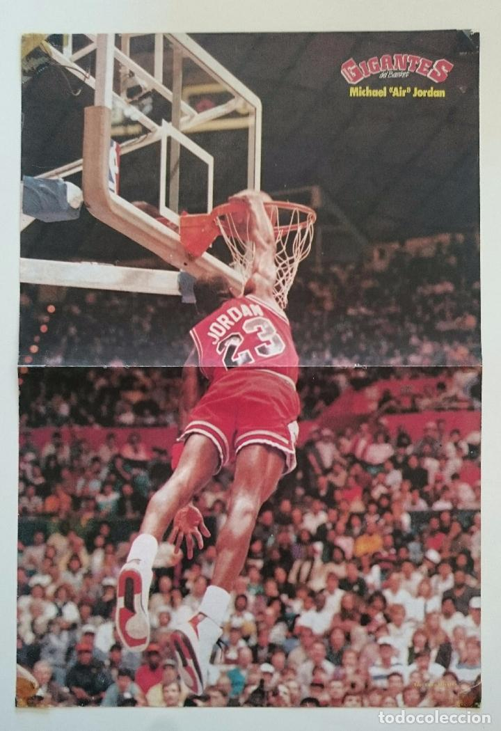POSTER MICHAEL AIR JORDAN 1987 NBA CHICAGO BULLS SLAM DUNK BALONCESTO GIGANTES (Coleccionismo Deportivo - Carteles otros Deportes)