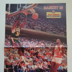 Coleccionismo deportivo: POSTER XAVIER MCDANIEL SEATTLE SUPERSONICS NBA BALONCESTO. Lote 85289828