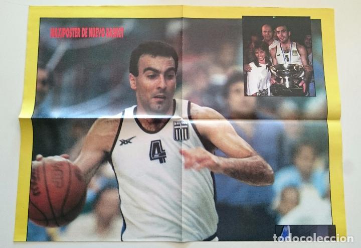 POSTER NICOS GALLIS BALONCESTO 1987 EUROBASKET DE GRECIA HELLAS SUPERBASKET (Coleccionismo Deportivo - Carteles otros Deportes)
