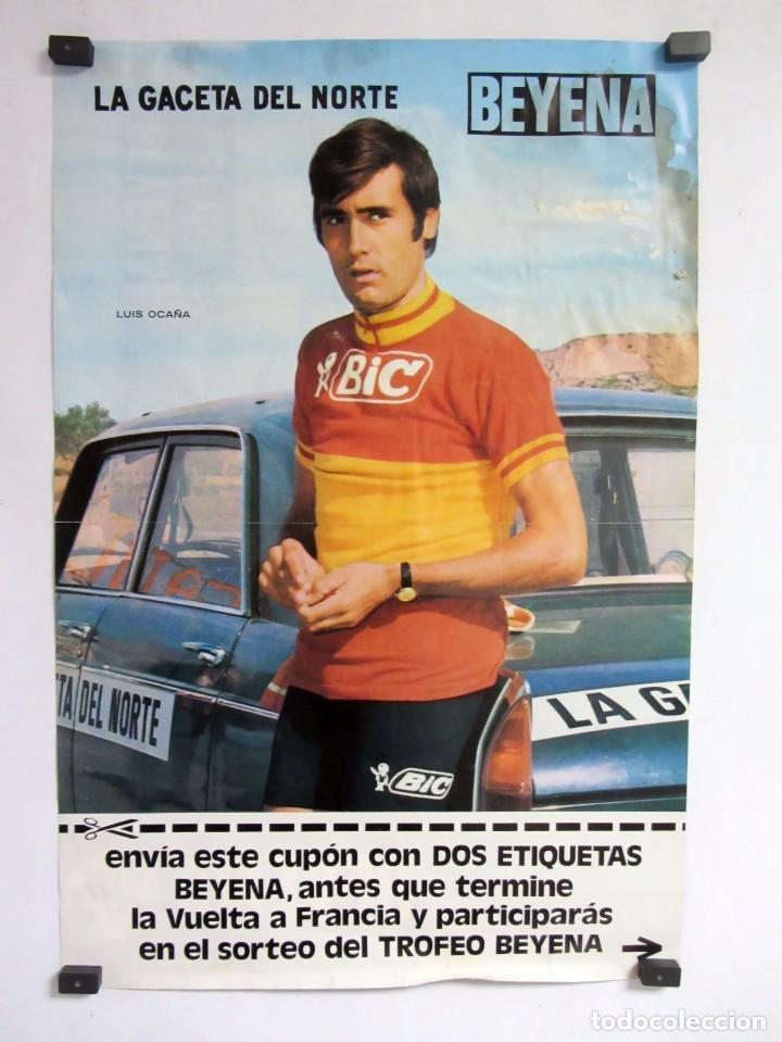 LUIS OCAÑA POSTER ORIGINAL 32X48 LA GACETA DEL NORTE/BEYENA (Coleccionismo Deportivo - Carteles otros Deportes)