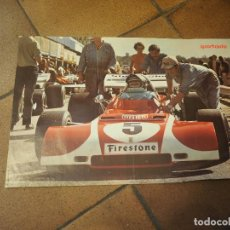 Coleccionismo deportivo: CARTELITO AUTOMOVILISMO FORMULA 1 FIRESTONE. SPOR- AUTO. MEDIDAS 42 X 28 CM. Lote 88762656