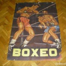 Coleccionismo deportivo: LOTE DE CARTELES DE BOXEO CON 13 CARTELES. Lote 89831476