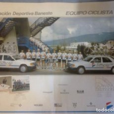 Coleccionismo deportivo: EQUIPO CICLISTA 90. Lote 91487945