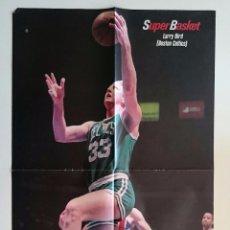 Coleccionismo deportivo: POSTER NBA LARRY BIRD BOSTON CELTICS. Lote 91557175