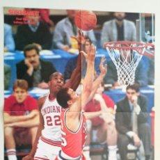 Coleccionismo deportivo: POSTER REVISTA SUPERBASKET IMAGEN INDIANA NCAA BALONCESTO UNIVERSITARIO USA. Lote 91582280