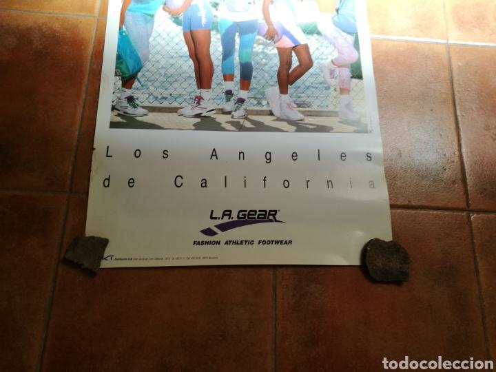 Coleccionismo deportivo: Raro cartel publicidad de L. A. Gear. Años 90. Original. Mide 68 x 49 centímetros - Foto 3 - 91718285