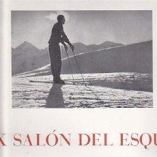 Coleccionismo deportivo: CARTEL UNION EXCURSIONISTA DE CATALUÑA X SALON DEL ESQUI . Lote 93240535