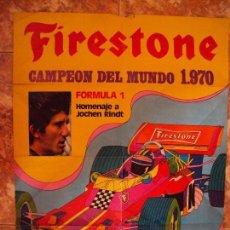 Coleccionismo deportivo: (F-170745)CARTEL ORIGINAL DEL MALOGRADO PILOTO DE FORMULA 1 JOCHEN RINDT. Lote 93859355