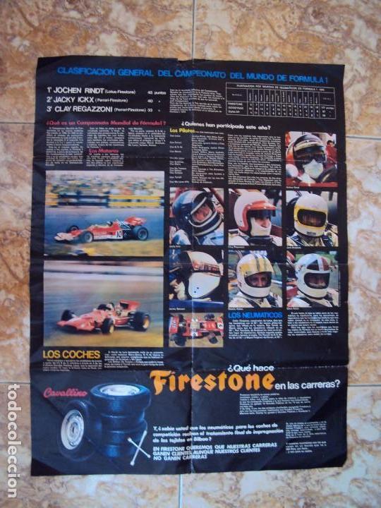 Coleccionismo deportivo: (F-170745)CARTEL ORIGINAL DEL MALOGRADO PILOTO DE FORMULA 1 JOCHEN RINDT - Foto 5 - 93859355