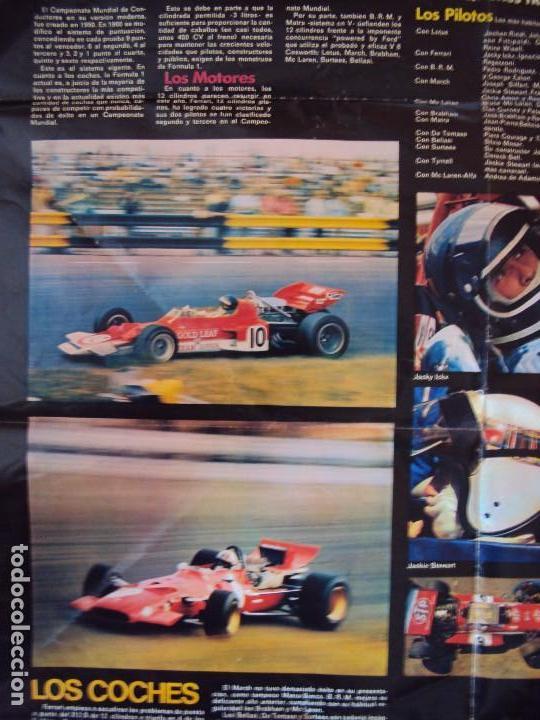 Coleccionismo deportivo: (F-170745)CARTEL ORIGINAL DEL MALOGRADO PILOTO DE FORMULA 1 JOCHEN RINDT - Foto 8 - 93859355