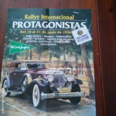 Coleccionismo deportivo: RALLYE INTERNACIONAL - PROTAGONISTAS - AÑO 1996 - ONDA RAMBLA - LUIS DEL OLMO - VER FOTOS Y CIRCUITO. Lote 95841835