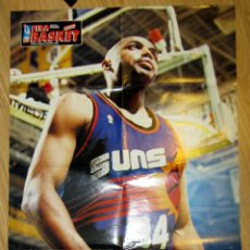 Coleccionismo deportivo: POSTER GIGANTE BALONCESTO BASKET NBA CHARLES BARKLEY BASKETBALL. Lote 96552831