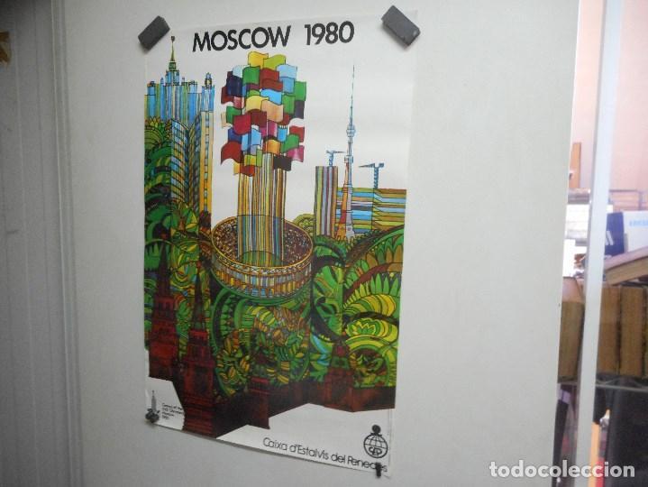 POSTER CARTEL OLIMPIADA MOSCU (Coleccionismo Deportivo - Carteles otros Deportes)
