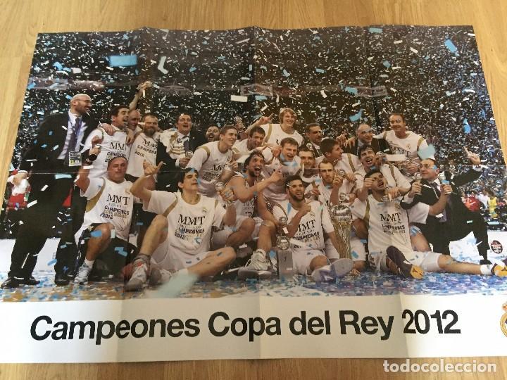 Coleccionismo deportivo: POSTERS REAL MADRID BALONCESTO CAMPEONES - Foto 4 - 194531687