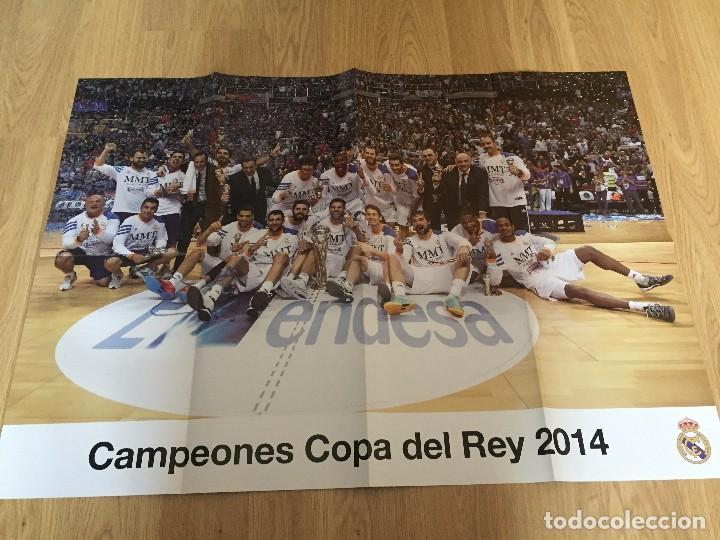 Coleccionismo deportivo: POSTERS REAL MADRID BALONCESTO CAMPEONES - Foto 5 - 194531687