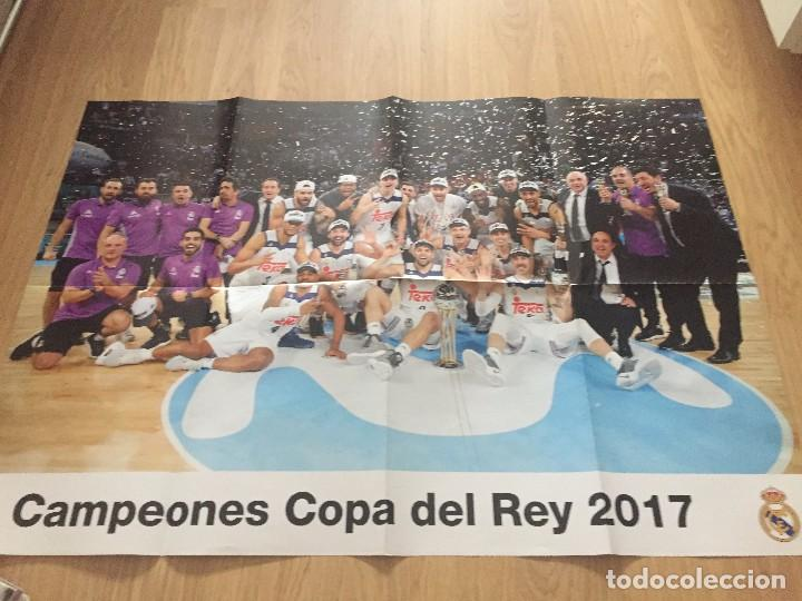 Coleccionismo deportivo: POSTERS REAL MADRID BALONCESTO CAMPEONES - Foto 10 - 194531687