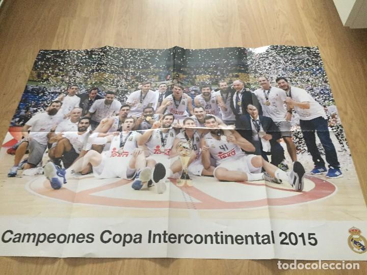 Coleccionismo deportivo: POSTERS REAL MADRID BALONCESTO CAMPEONES - Foto 11 - 194531687