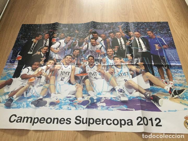 Coleccionismo deportivo: POSTERS REAL MADRID BALONCESTO CAMPEONES - Foto 12 - 194531687