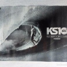 Coleccionismo deportivo: KELLY SLATER 10X WORLD CHAMPION ORIGINAL POSTER 58X44 CMS QUIKSILVER. Lote 100306543