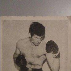 Coleccionismo deportivo: MINICARTEL.CASIMIRO MARTINEZ YÑARRA.1969-70.BOXEO AFICIONADO.AMATEUR.KID TUNERO.TORRELAVEGA. Lote 101410823