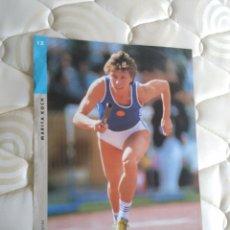 Coleccionismo deportivo: PÓSTER LA VANGUARDIA FOTOS OLÍMPICAS: MARITA KOCH (ATLETISMO) JUEGOS OLÍMPICOS BARCELONA '92 (1992). Lote 102443859
