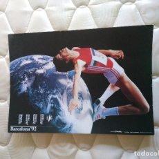 Coleccionismo deportivo: PÓSTER CARTEL DEPORTES: OLIMPÍADAS 1992, JUEGOS OLÍMPICOS BARCELONA '92. Lote 102445983