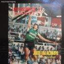 Coleccionismo deportivo: NUEVO BASKET. PÓSTER JORDI VILLACAMPA. Lote 103468646
