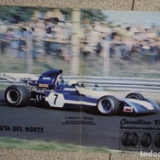 Coleccionismo deportivo: CARTEL EL SURTEES TS 14/FIRESTONE. AÑO 1973. Lote 105960463