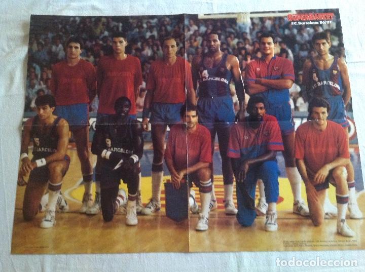 POSTER BARCELONA 1987 BALONCESTO (Coleccionismo Deportivo - Carteles otros Deportes)