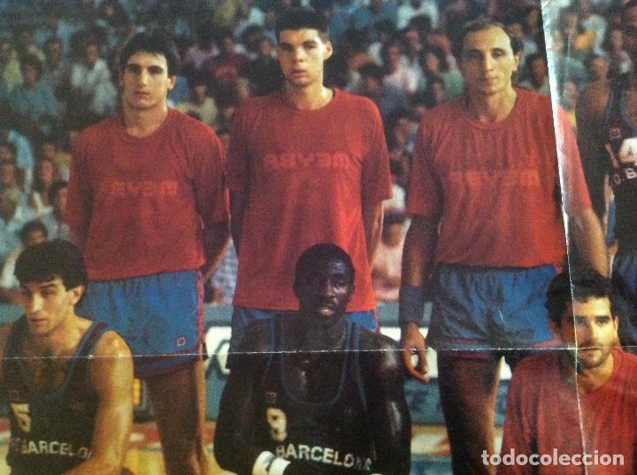 Coleccionismo deportivo: POSTER BARCELONA 1987 BALONCESTO - Foto 6 - 106956431